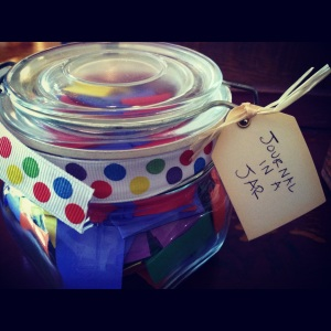 Journal In A Jar
